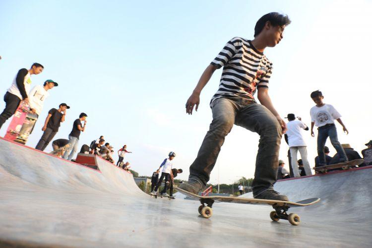 Stride Skateboarding Kuningan, Komunitas Skaters Pengasah Otot dan Nyali